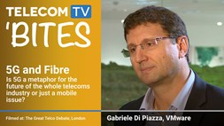 TelecomTV Bites: 5G and Fibre