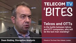 TelecomTV Bites: Dean Bubley on Telcos and OTTs