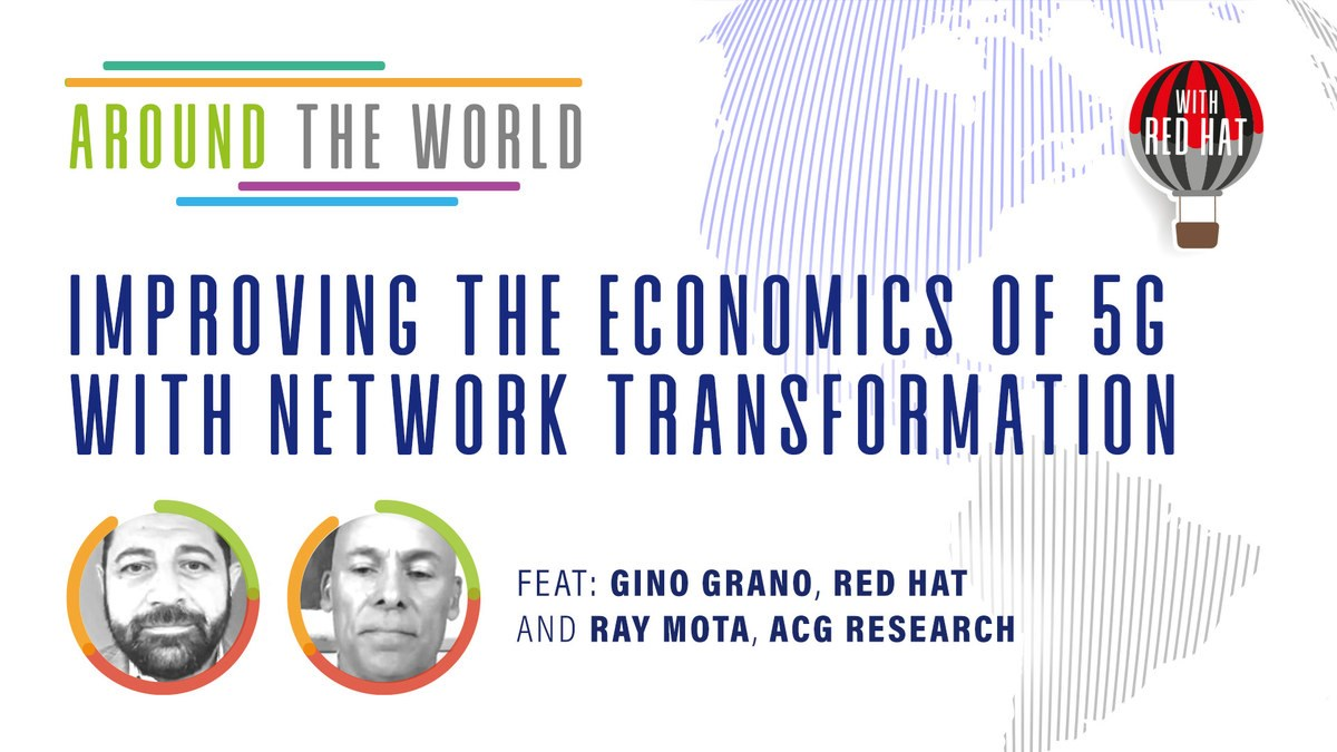 Improving the economics of 5G with network transformation