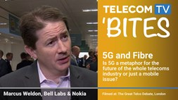 TelecomTV Bites: Marcus Weldon on 5G and Fibre