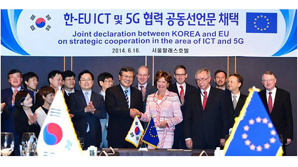 5G deal EU and Korea