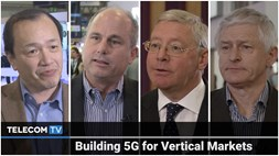 Building 5G for vertical markets