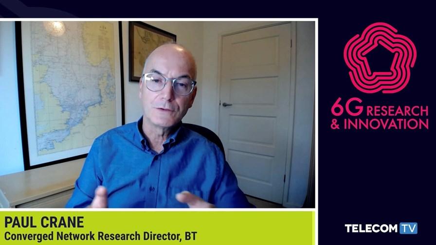Paul Crane, Converged Network Research Director, BT