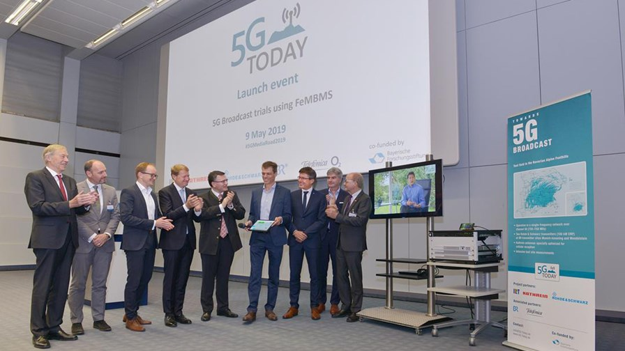 5G Today: Launch event in Germany