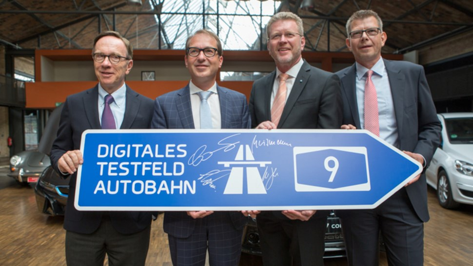 A9 digital Autobahn