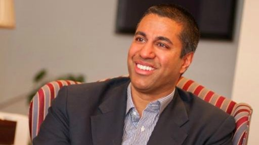 Ajit Pai: possible new FCC chairman?