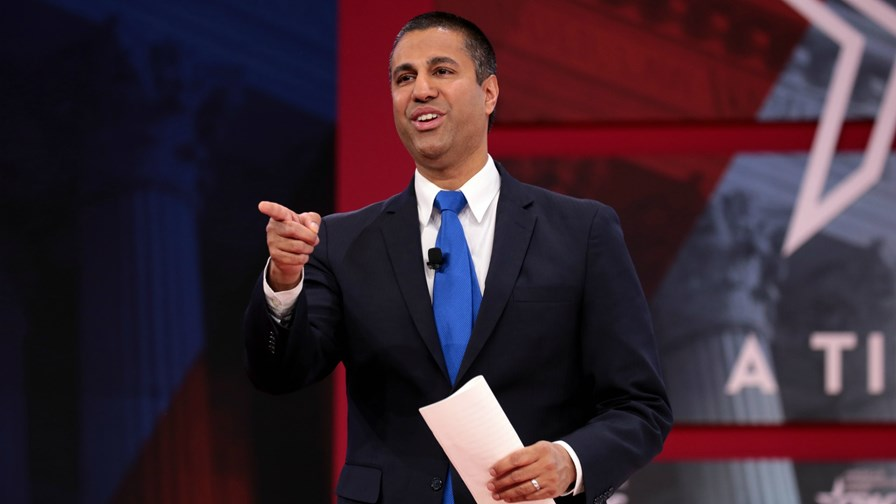 FCC Chairman Ajit Pai    via Flickr © Gage Skidmore (CC BY-SA 2.0)