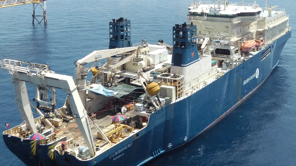 Alcatel Cable Laying ship