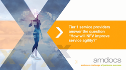 "Advertorial: Tier 1 service providers answer the question ""How will NFV improve Service Agility?"""