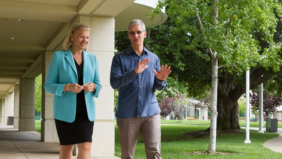 Apple and IBM Announce Global Partnership