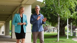 Contrasting fortunes for enterprise partners Apple and IBM