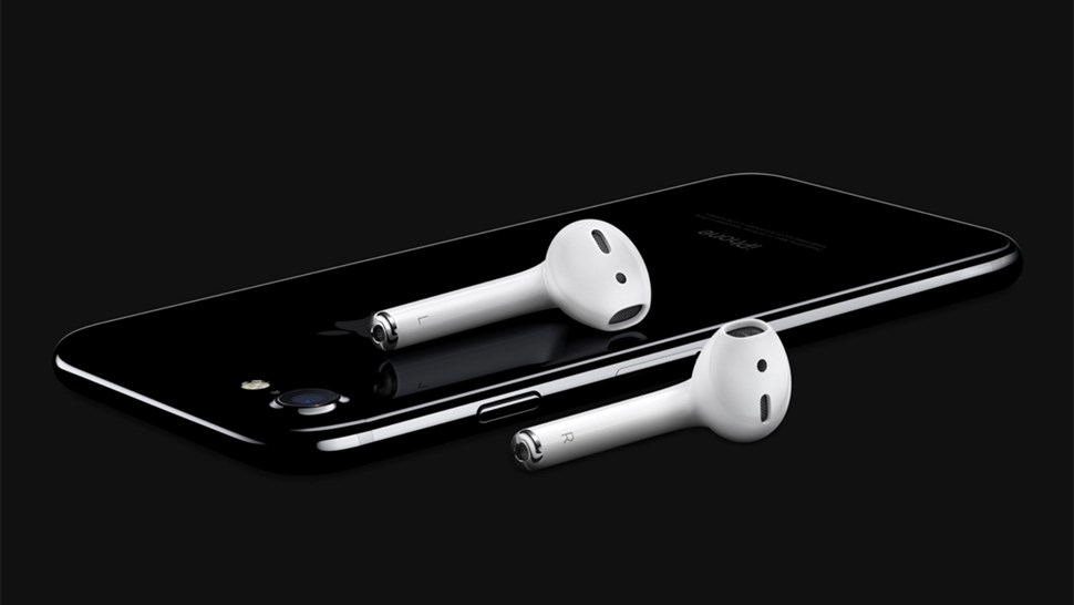 Apple iPhone 7 and AirPods