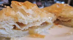 Apple turnover Cooked to perfection
