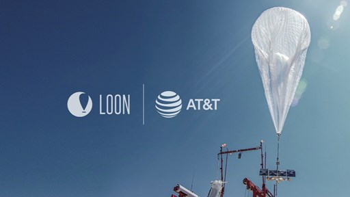 AT&T and Loon (picture courtesy of Loon)