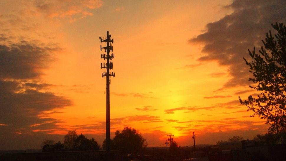 Base station sunrise