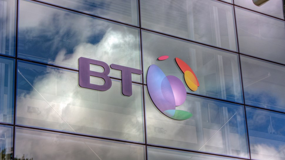 BT building logo