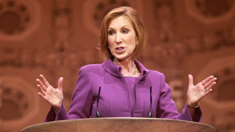 Carly Fiorina, ex-CEO of HP, wants to run for the US presidency on a Republican ticket. What could possibly go wrong?