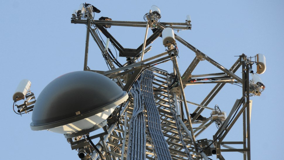cell tower construct