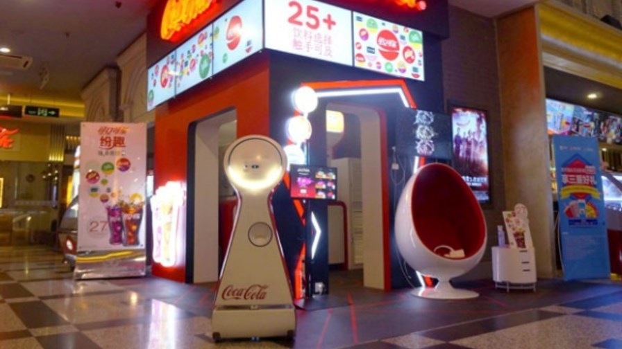 The robots are coming... © The Coca-Cola Company