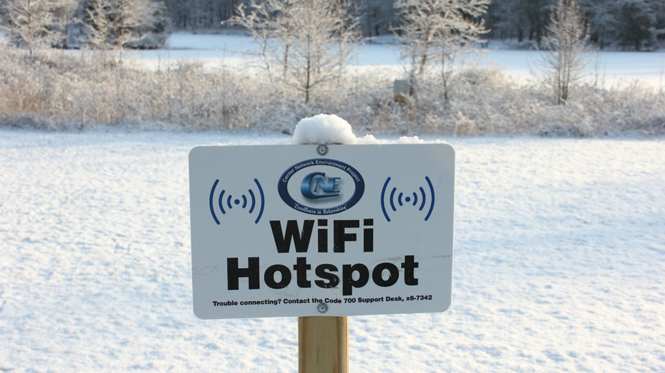 cold hotspot for wifi