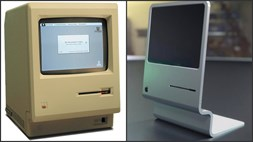 Retro chic: Apple's original Macintosh reimagined