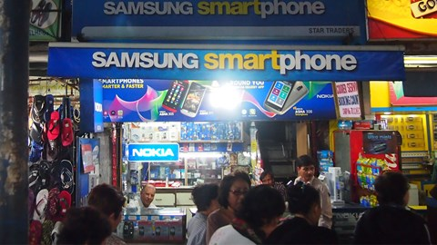 India spices up the Asian smartphone market whilst Chinese vendors close in on Samsung