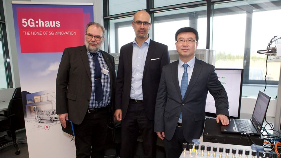Deutsche Telekom 5G NR interoperability