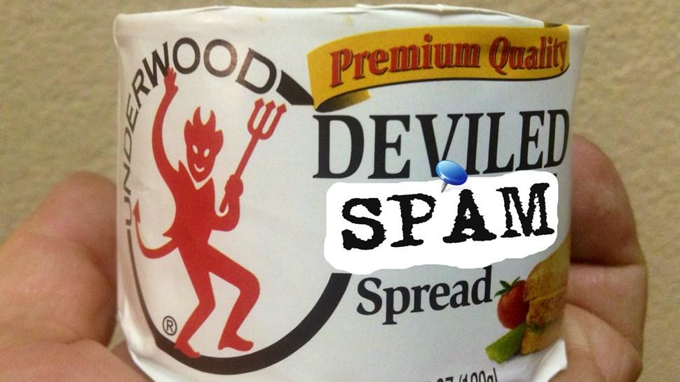 dfeviled spam