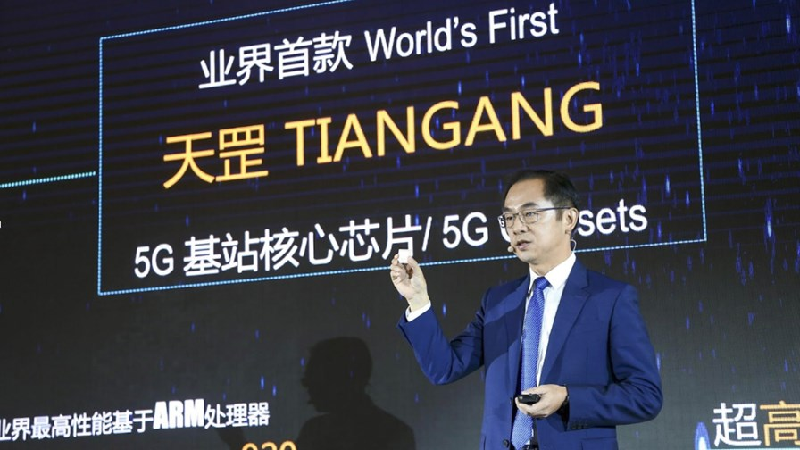 Ryan Ding, Huawei's Executive Director of the Board and Carrier BG CEO.   Source: Huawei