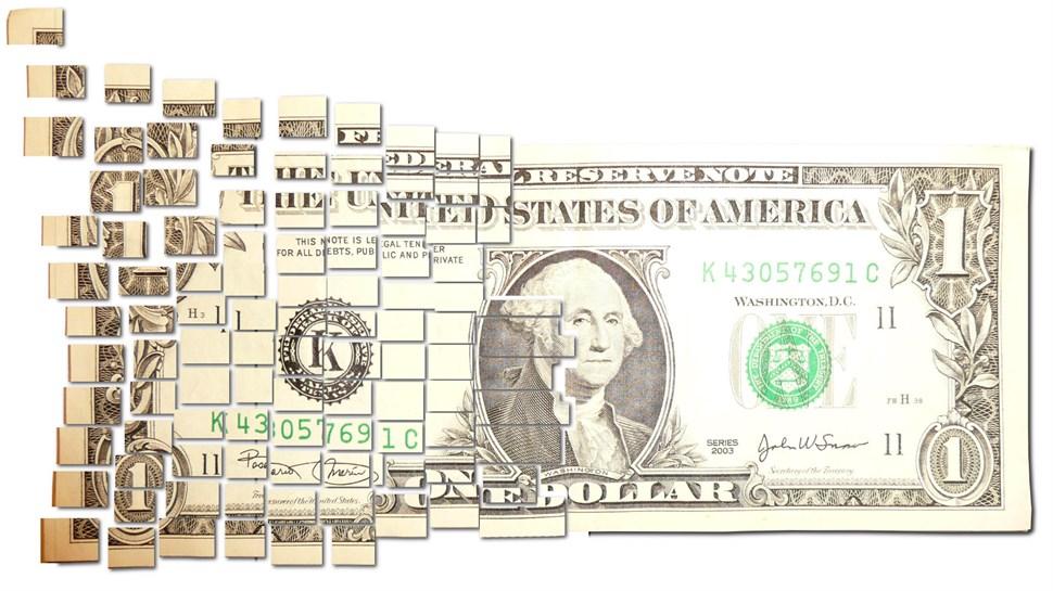disolving dollar