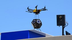 Cranes building cranes: Nokia marries drone delivery and small cell installation