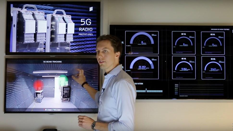 Ericsson 5G demo