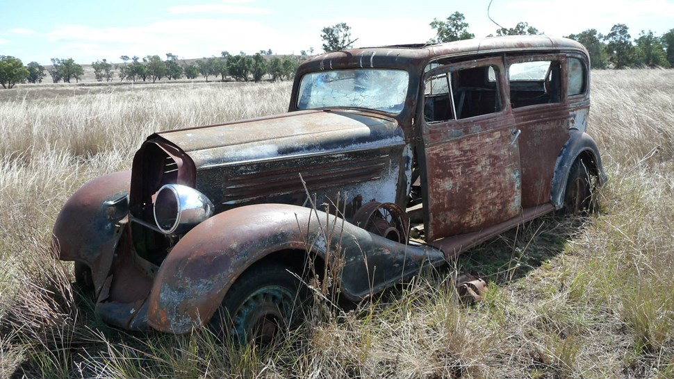 escaped car