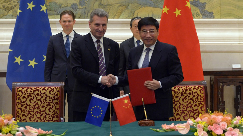 EU China 5G agreement