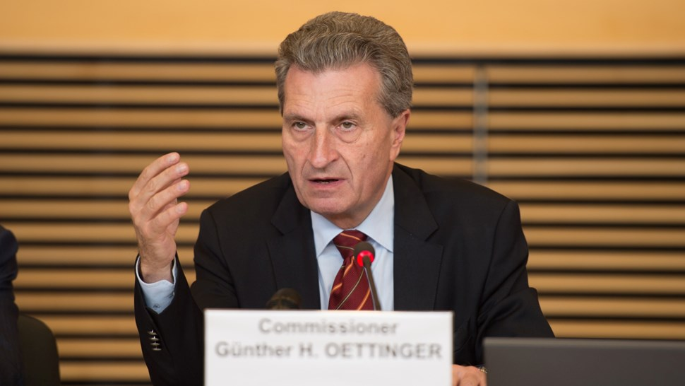 EU Oettinger European Union Lieven Creemers