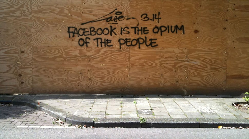 Facebook Graffiti
