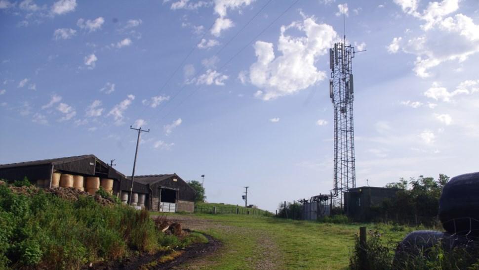 Farm and mast flickr