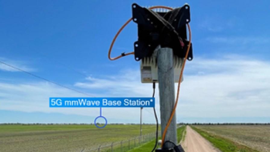 5G mmWave base station approx. location