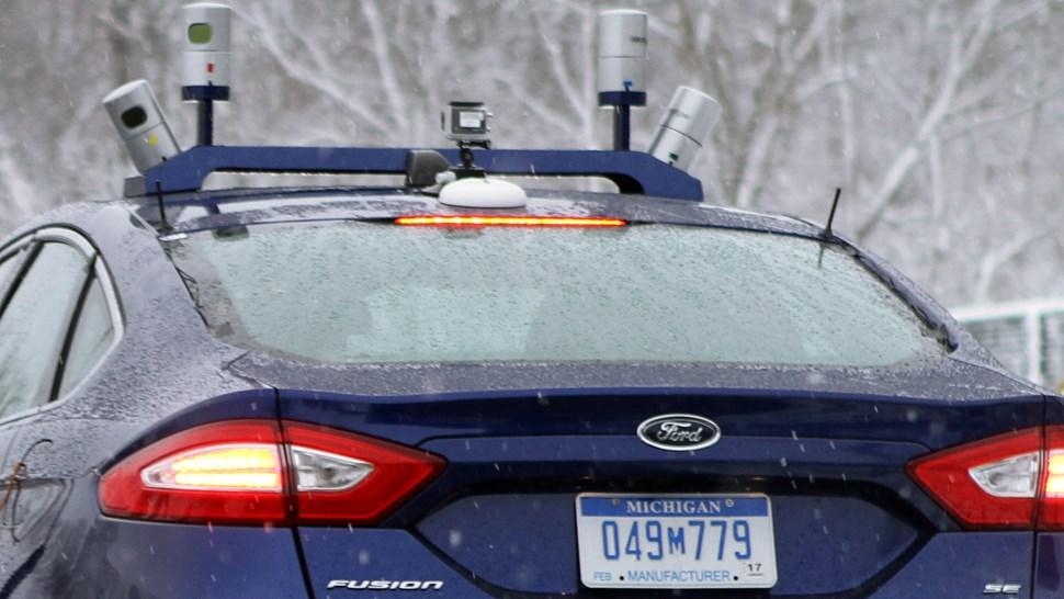 Ford snow sensors