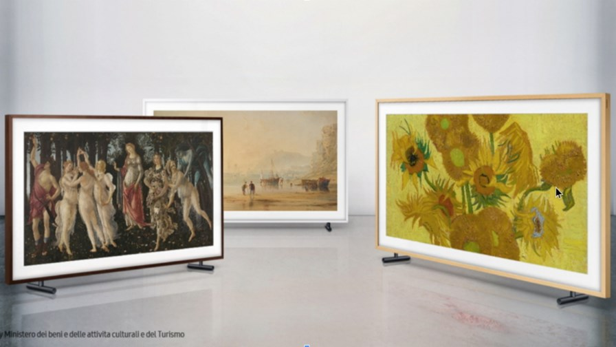 Source: Samsung  'The Frame' brings new masterpieces to consumers at Uffizi Galleries, Museum of New Zealand Te Papa Tongarewa, and the Van Gogh Museum