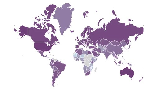 Internet Accessibility Index Map: Broadband Choices