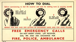 The world's oldest emergency call service is 80 today