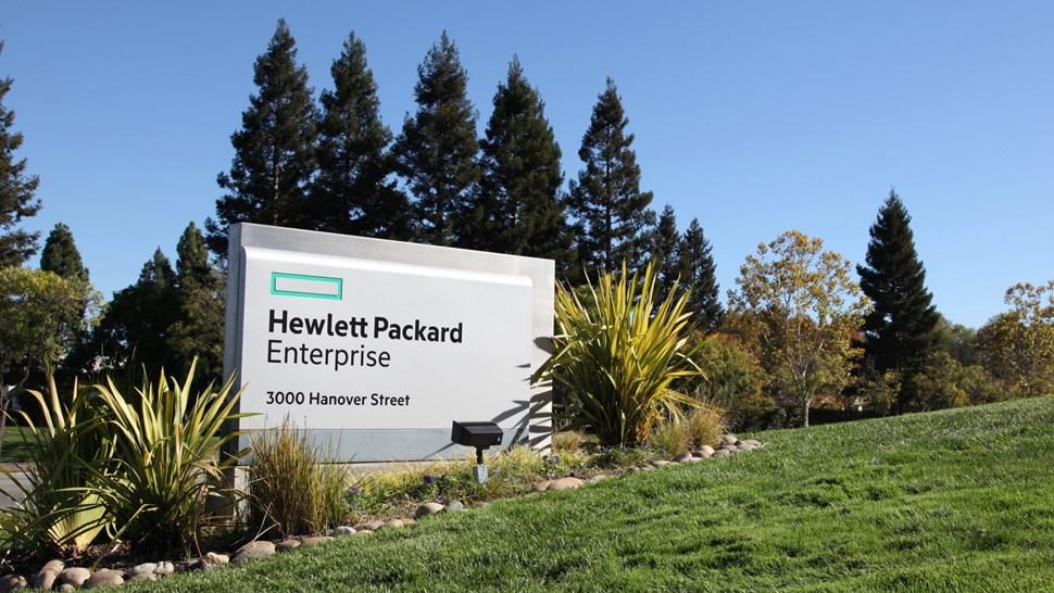 HPE campus sign