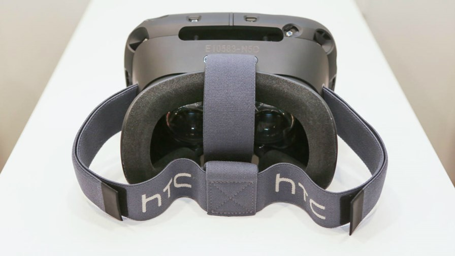 HTC's virtual reality helmet