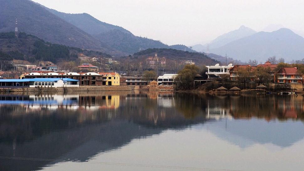 Huairou city China