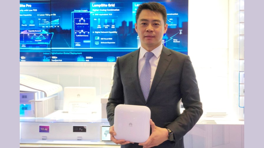 Ritchie Peng, President of Huawei's Small Cell Product Line © Huawei