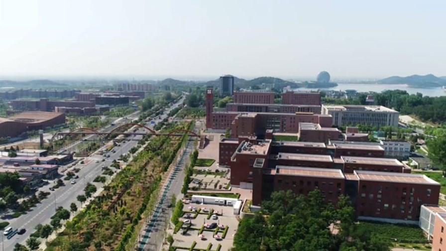 5G testing in Huairou, Beijing © Huawei