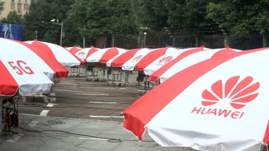 A rather secretive glimpse of Huawei's 5G field trial in Chengdu © Huawei