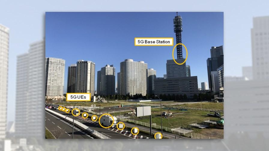 5G trial in Yokohama, Japan © Huawei