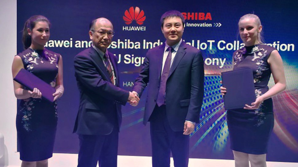 Huawei Toshiba IoT 2